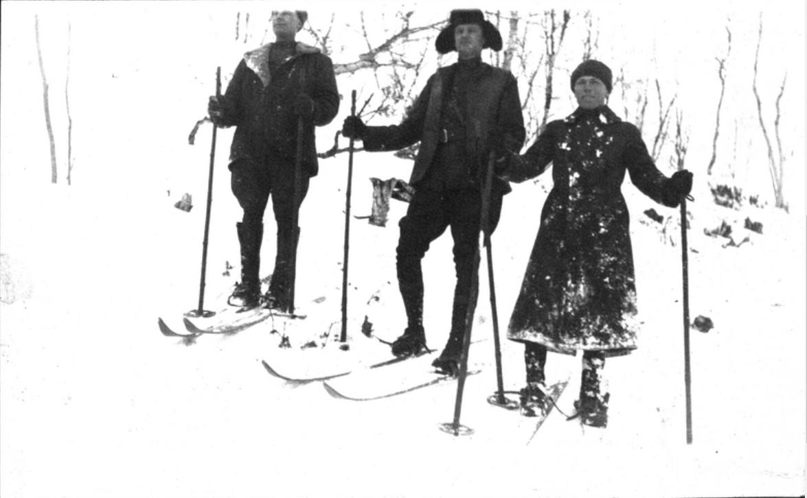 12. Любители на лыжах
