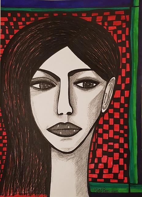 דיוקנאות נשים אמנות ישראלית מודרנית עכשווית מירית בן-נון