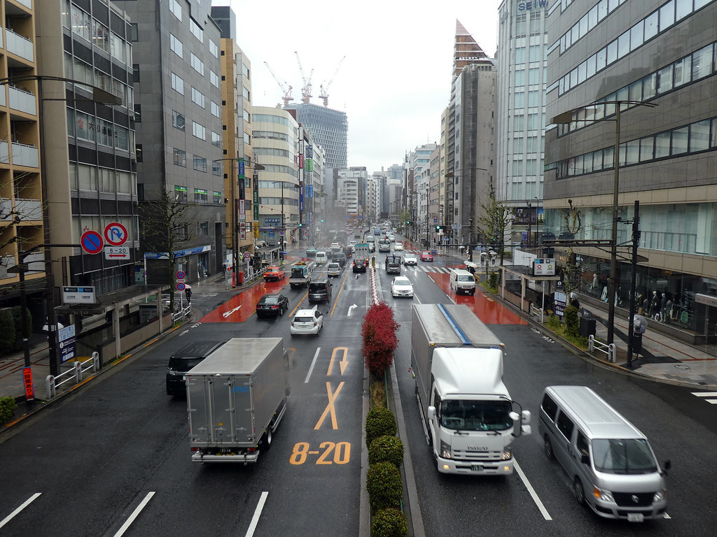 P1030407Yasukuni-dori Street