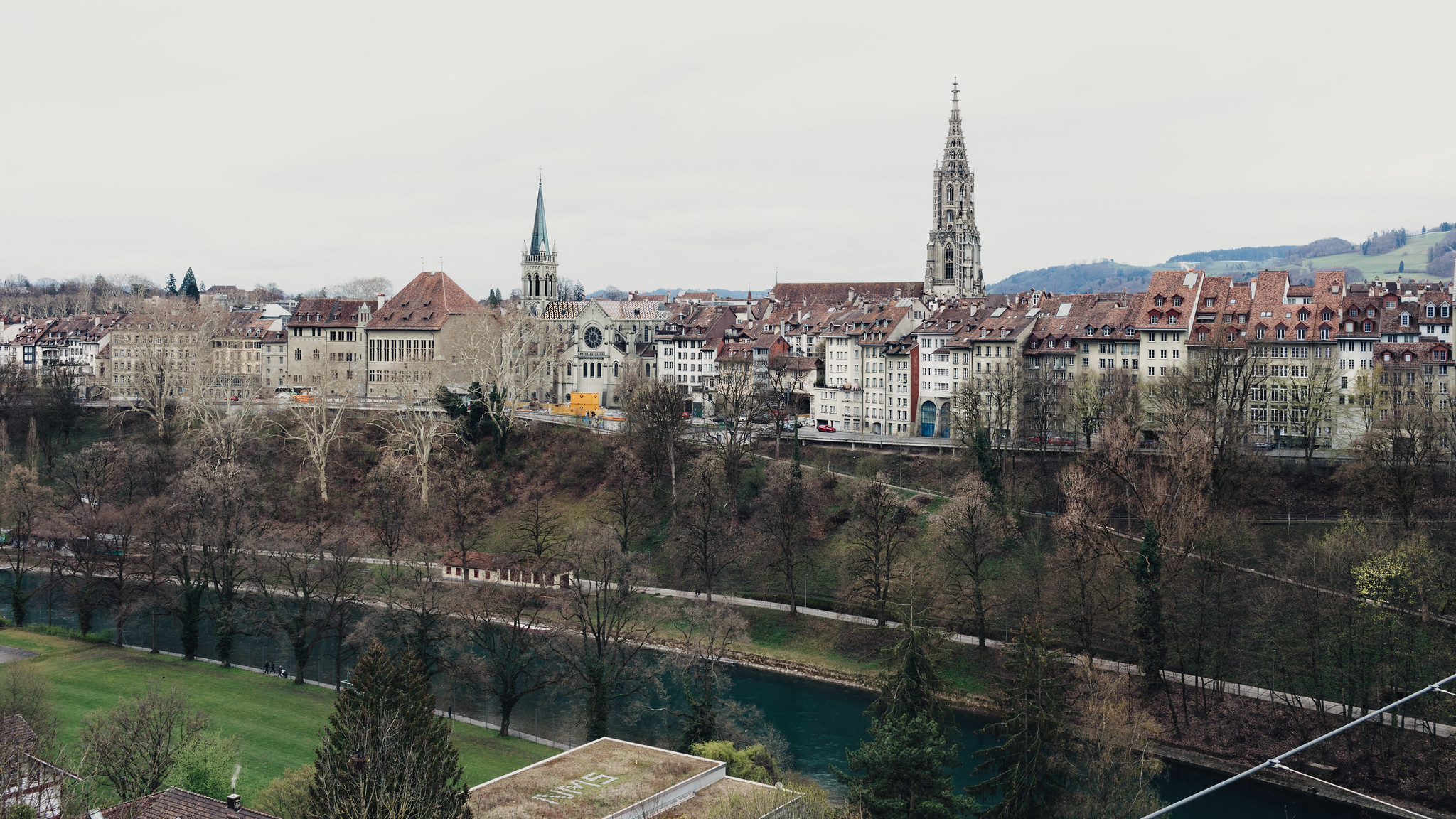 Looking back towards Bern Münster
