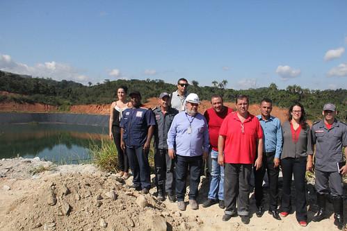 Visita técnica para verificar a segurança da barragem da Mina do Engenho - Comissão Parlamentar de Inquérito