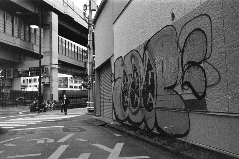 068LeicaM2 Summaron 35mm f35 Kodak 400TX南町