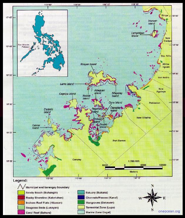 San Vicente Barangays
