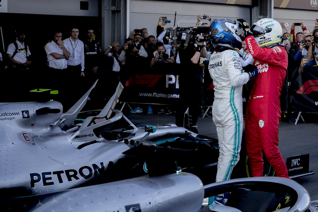 Valtteri Bottas & Sebastian Vettel  - Baku, Azerbaijan GP F1