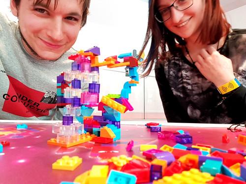 building lego