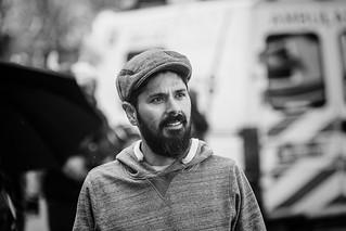 Man with beard and a cap