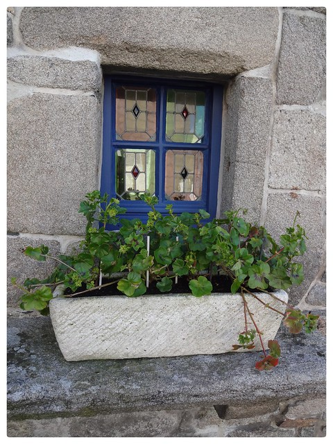 Roscoff Window Bretagne