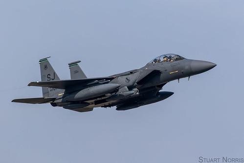 F 15e strike eagle 88 1676 335th fighter squadron seymou - Seymour johnson afb swimming pool ...