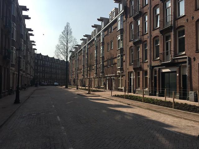 Hasebroekstraat te Amsterdam