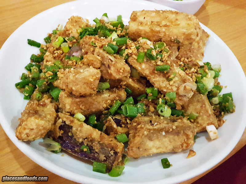 restoran yi sheng huat fried brinjal