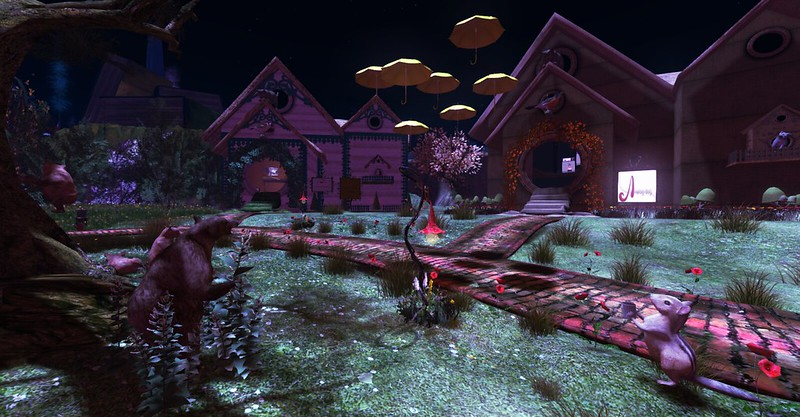 Sanguinely Garden in the night - - Fantasy Faire 2019