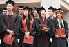 """The spring 2019 graduating class was one of UH West Oahu's largest ever. The University of Hawaii–West Oahu held spring commencement on May 4, 2019 at the Lower Courtyard. View more photos on the UH West Oahu Flickr site at: <a href=""""https://www.flickr.com/photos/uhwestoahu/albums/72157678118707327"""">www.flickr.com/photos/uhwestoahu/albums/72157678118707327</a>"""