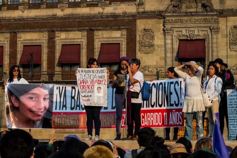 20190202 MUJERES MARCHAN CONTRA SECUESTROS EN LA CDMX