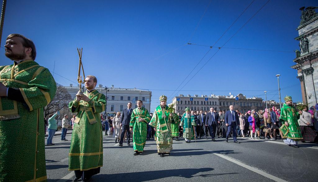 21 апреля 2019, Вход Господень в Иерусалим (Вербное воскресенье) / 21 April 2019, The Entry of the Lord into Jerusalem (Palm Sunday)