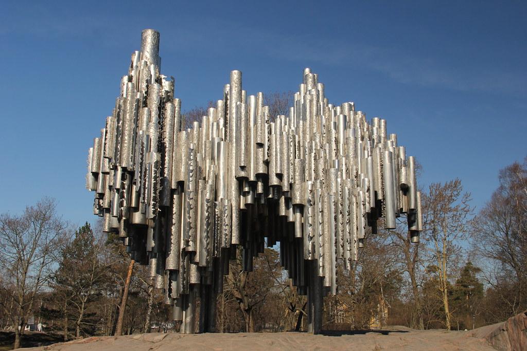 Sibelius Monument, Helsinki