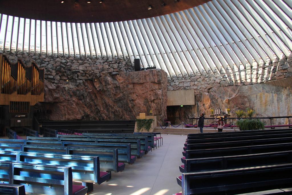 Temppeliaukion Kirkko (Rock Church), Helsinki