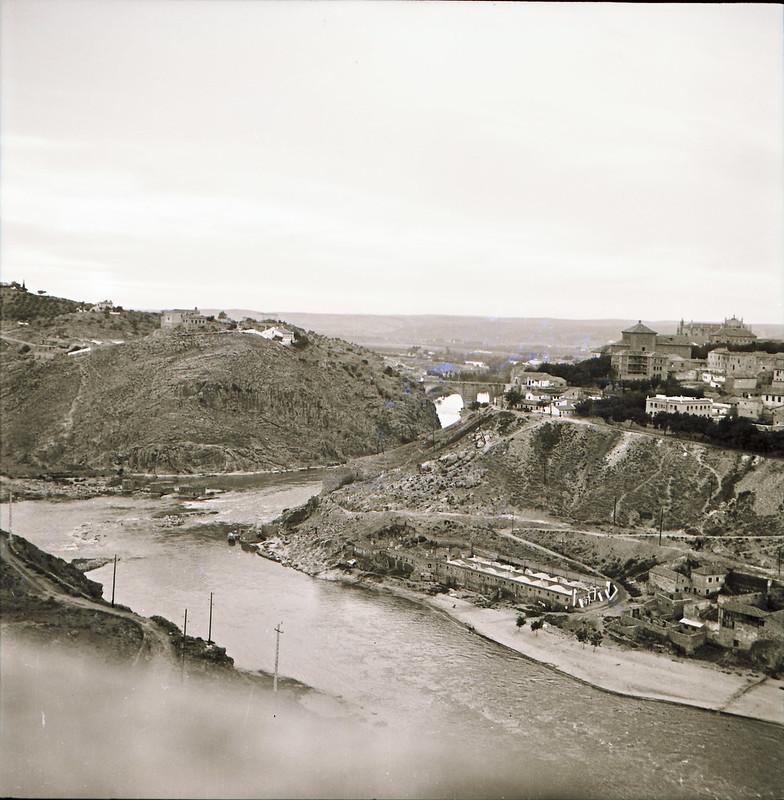 Río Tajo en los años 60. Fotografía de Victoriano de Tena Sardón