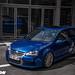 Golf R32 Deep blue Recaro Wingbacks seat