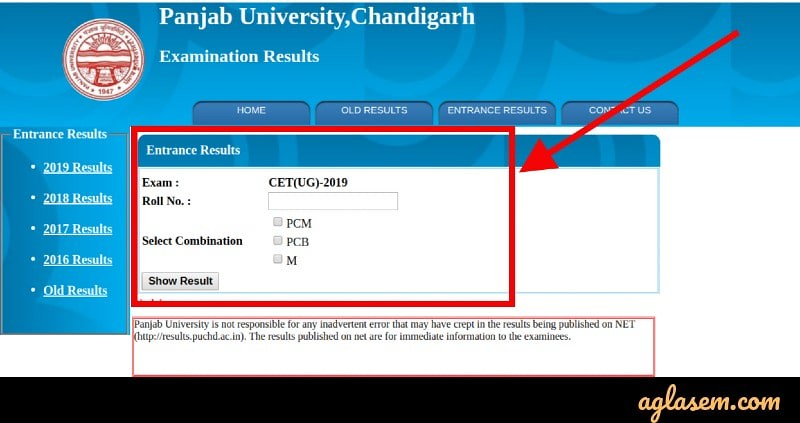 PU CET UG 2019 Result (Announced) - Check Merit List, Toppers