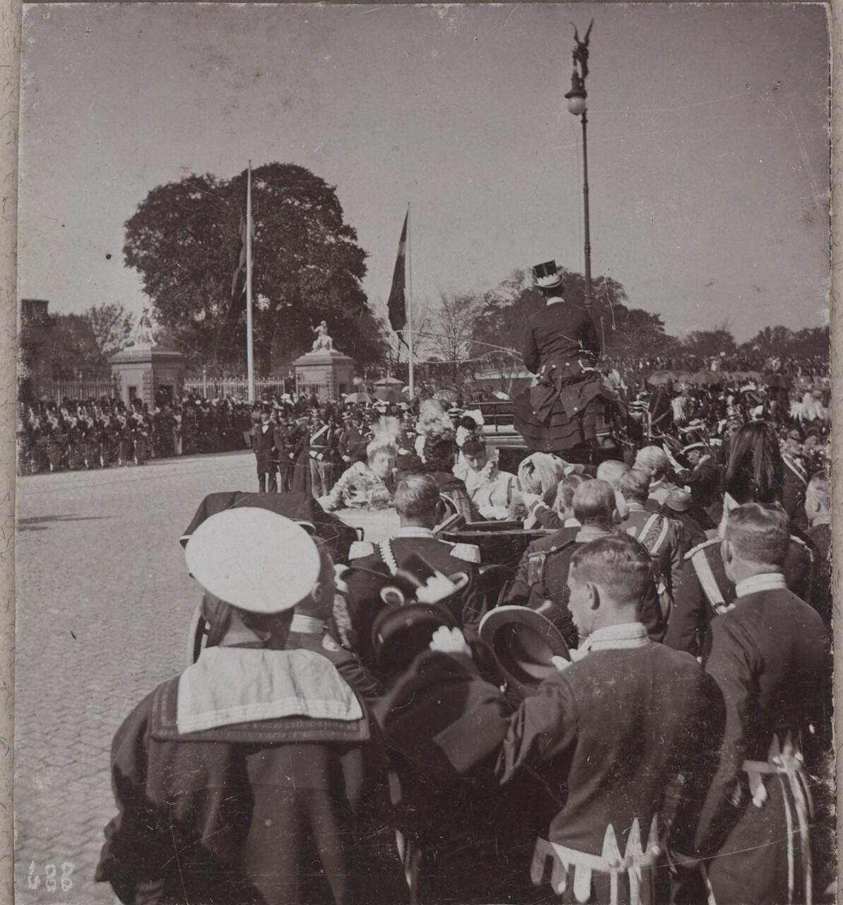 1896. Прибытие Императора Николая II в Копенгаген (2)
