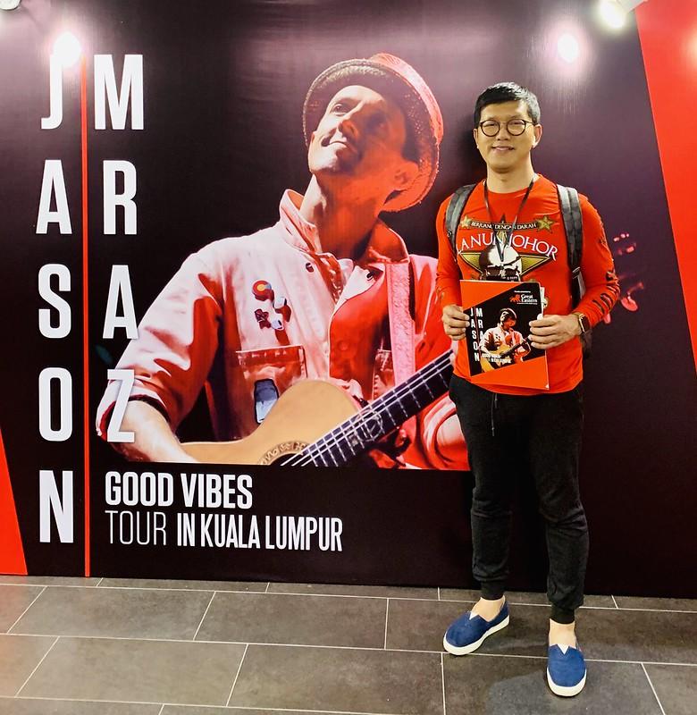 Jason Mraz Good Vibes Tour In Kuala Lumpur