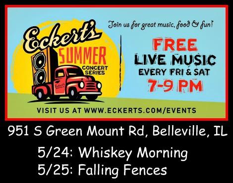 Eckert's Summer Concerts 5-24, 5-25-19