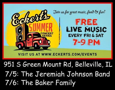 Eckert's Summer Concerts 7-5, 7-6-19