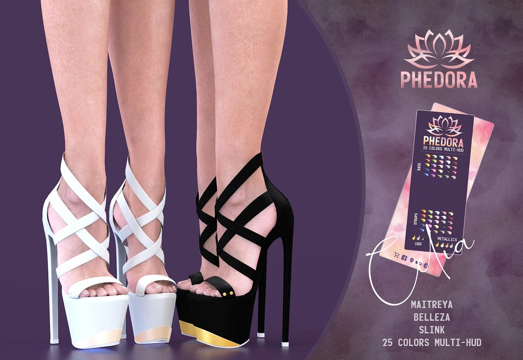 "Phedora. for Black Fair 2019 – ""Celia"" Heels ♥"