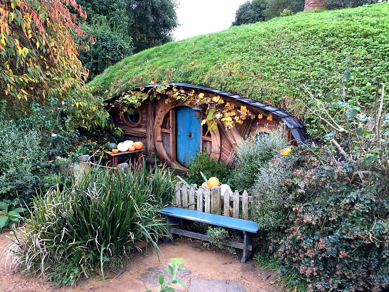 Travelling the Waikato Region - Hobbiton Village tour