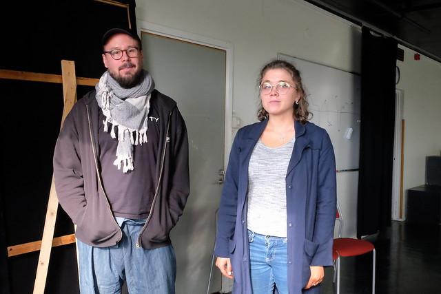 Andreas Burmester och Estelle Johansson