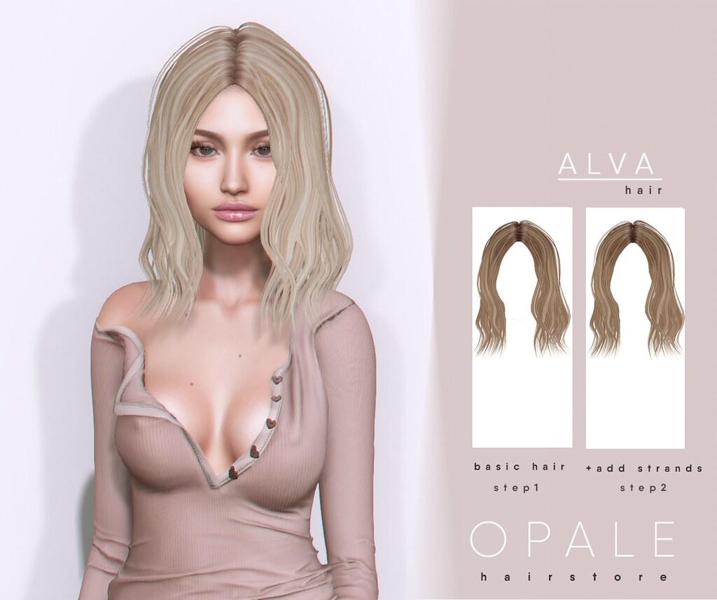 Opale . Alva Hair @ N21 April 2019