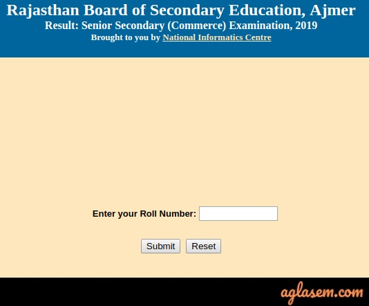 RBSE 12th Result 2019 (Announced) | Rajasthan Board Result- Check Here