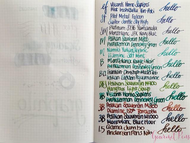 Graphilo Notebook Review & Fantastic Fountain Pen Friendly 10