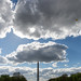 National Mall with Washington Monument and clouds
