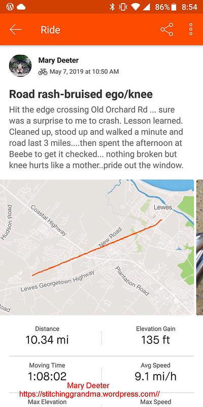 Road Rash Bruised Ego ride