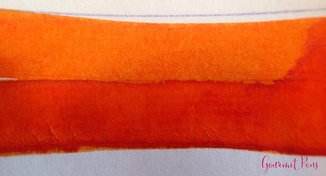 Toucan Orange Ink Review 4