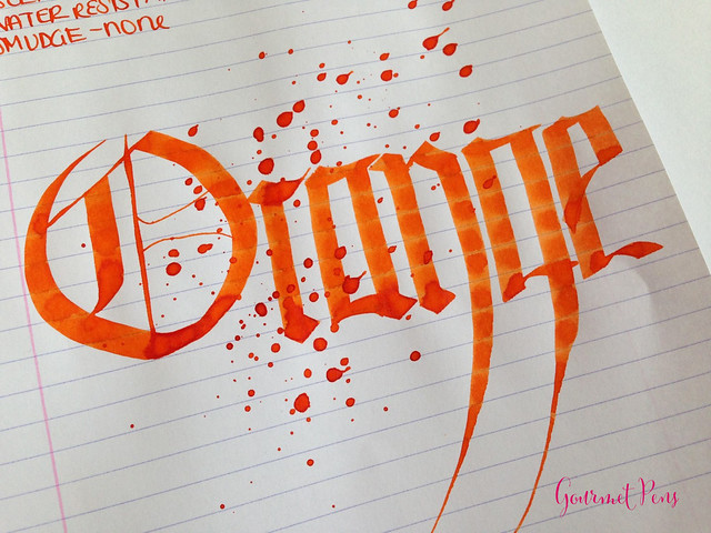 Toucan Orange Ink Review 6