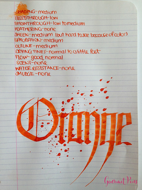 Toucan Orange Ink Review 5