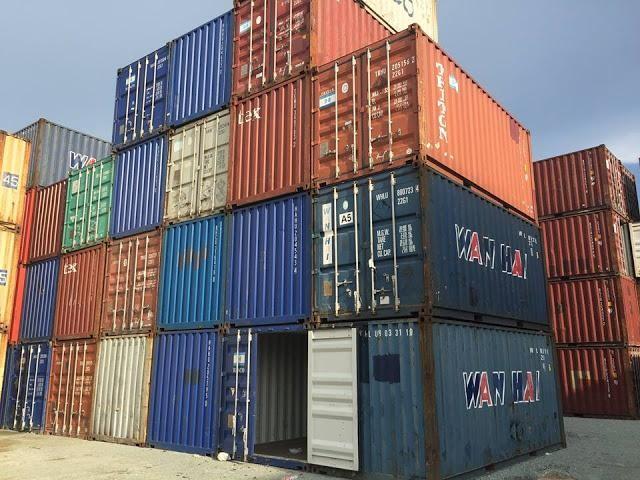 Cho thuê container cũ