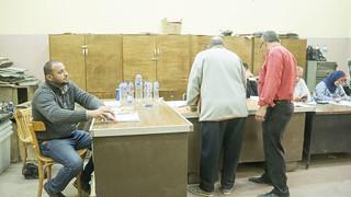 A Cairo polling station | by Kodak Agfa