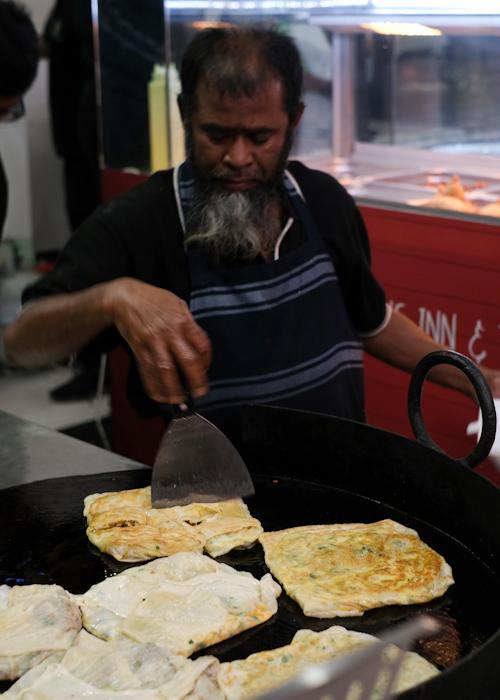 Martabak at the Ramadan Night Market in Lakemba Sydney