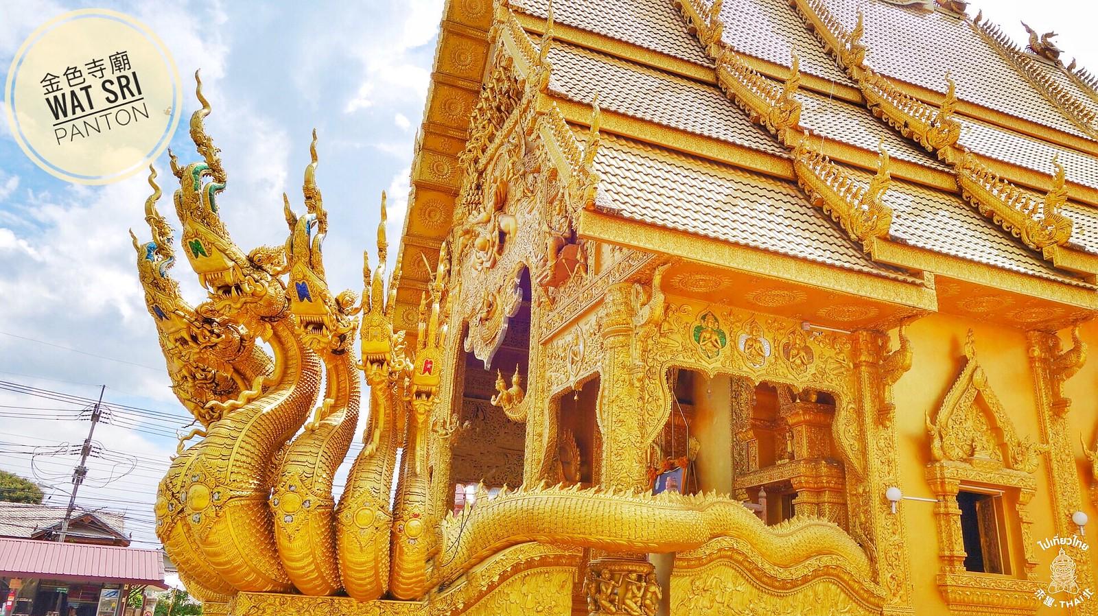 菩提樹所寄託的金色寺廟-Wat Sri Panton(วัดศรีพันต้น)