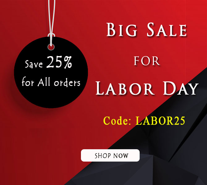 Big Sale for Labor Day 2019