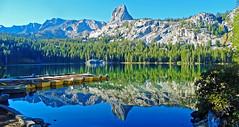 Placid Morning, Lake George, Sierra Nevada, CA 2016