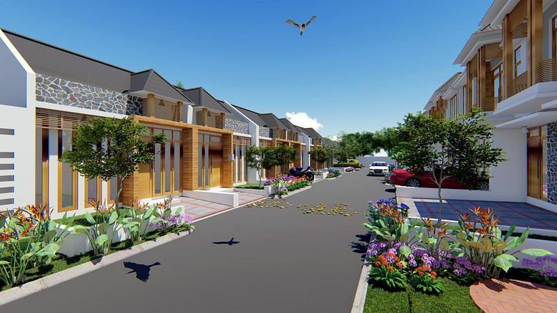 Desain Rumah Taman Cagak Nirvana
