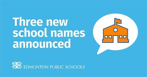 2019 EPSB School Namesakes Announcement at May 14 Board Meeting