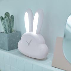 Rabbit LED Clock Night Light