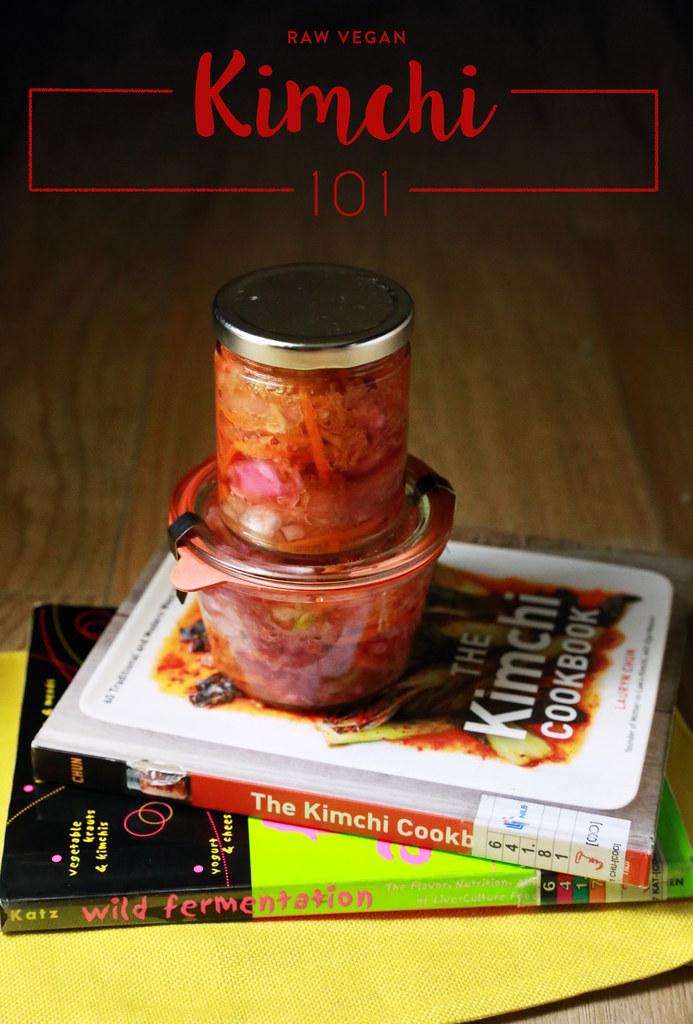 Raw Vegan Kimchi (Baechu)