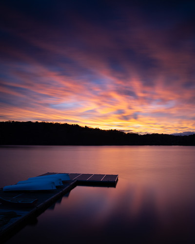 longexposure jamaicaplain jamaicapond sunset