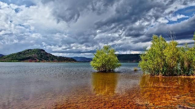 Le Lac Du Salagou-France